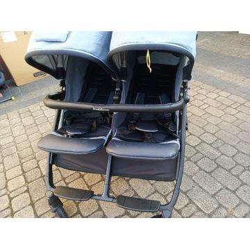 Wózek bliźniaczy Peg-Perego 3 w 1