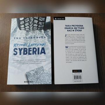 """Ewa Sosnowska """"Kroniki Lenny'ego: Syberia""""zakładka"""