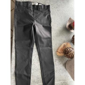 Woskowane rurki S spodnie
