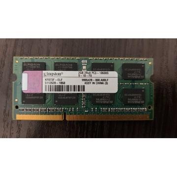 Pamięć RAM Kingston 2GB 2Rx8 PC3-10600S