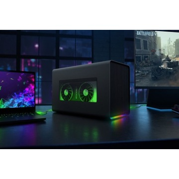 EGPU Razer Core X AMD Radeon RX 5700 xt red devil