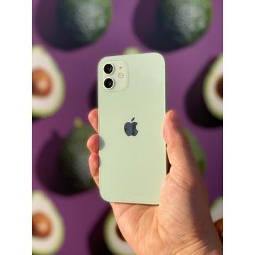 Telefon iPhone 12 64 GB jak nowy jasno zielony