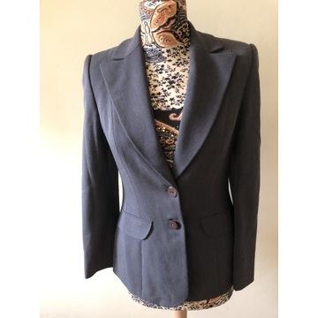 Garnitur / kostium wełniany roz 36