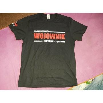 Nowy, oryginalny t-shirt Wojownik S Black