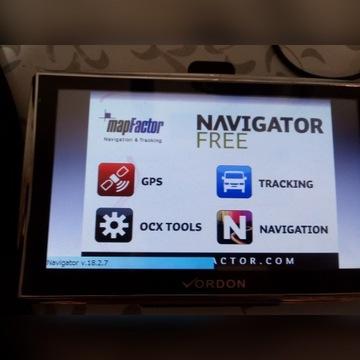 NAWIGACJA SAMOCHODOWA 7 GPS 8GB DOŻYWOTNIO MAPY