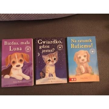 Książki o przygodach zwierzątek