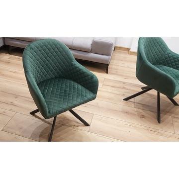 4x Krzesła Fotele Leria Agata Zieleń Nowoczesne
