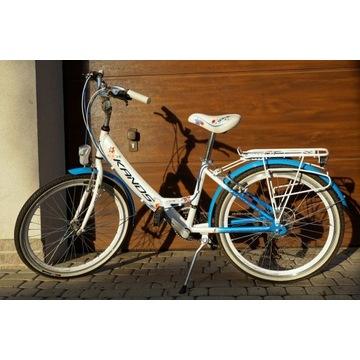 Rower dla dziecka 24 ALU Shimano Tourney 21(3x7)