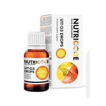 Wegańska VIT-D3 DROPS 10 ML NUTRICODE
