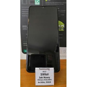Samsung A12 4/64GB 5000mAh 8x2Ghz