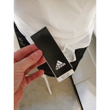 Top adidas ACTIVE s white logo oryginal