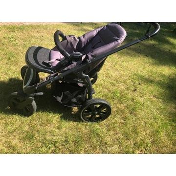 Wózek dziecięcy 2w1: spacerówka + gondola + GRATIS
