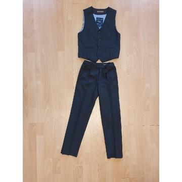 Komplet: eleganckie spodnie i kamizelka