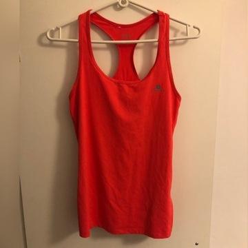 Różowa bokserka koszulka sportowa bluzka Domyos XS
