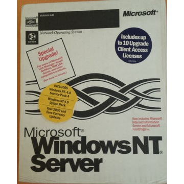 System Microsoft Windows NT 4.0 Server EN Box