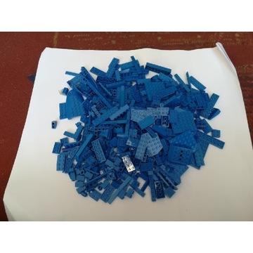 Lego mix klocków niebieskich 500g. 100% Lego