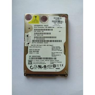 """DYSK TWARDY 500 GB 2,5"""" CALA HDD SATA GW FV23"""