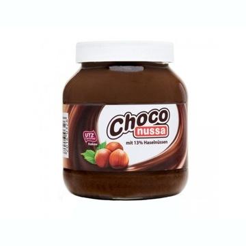 Krem czekoladowy orzechowy niemiecki