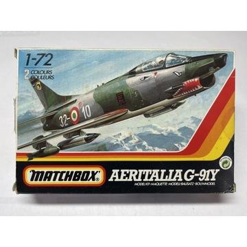 Matchbox 1:72 AERITALIA G-91Y