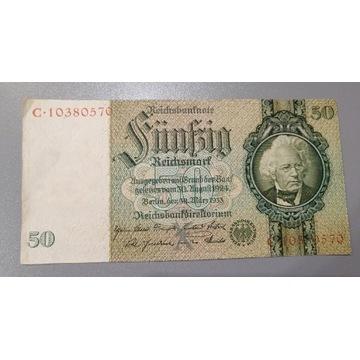 50 Reichsmark  1924-1933