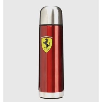 Termos metalowy czerwony Ferrari F1 Team Wyprzedaż