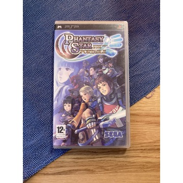 Phantasy Star Portable PSP komplet