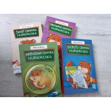 Książki Chomik Hubercik  zestaw 4 szt