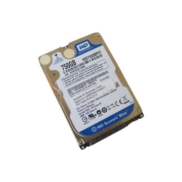 Dysk HDD 750GB 2.5'' WD WD750BPVT SATAII 8MB