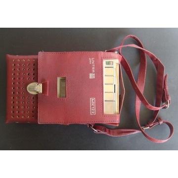 UNITRA - MK 122 - Magnetofon kasetowy + futerał.
