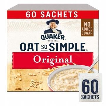 Quaker Original Płatki Owsiane 60 x 27g UK