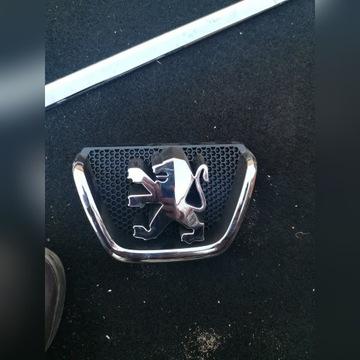 Znaczek emblemat Peugeot 206 nowy 9628688677