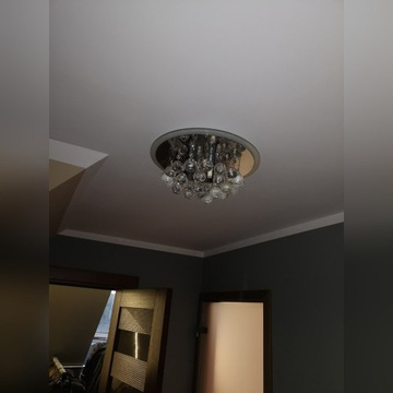 Plafon kryształowy LED.  2- sztuki