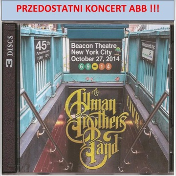 ALLMAN BROTHERS BAND-BEACON THEATRE-27.10.2014-3CD
