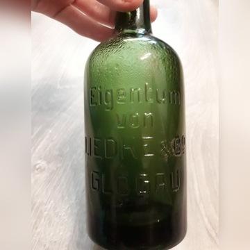 Stara butelka Eigentum Liedke Glogau.