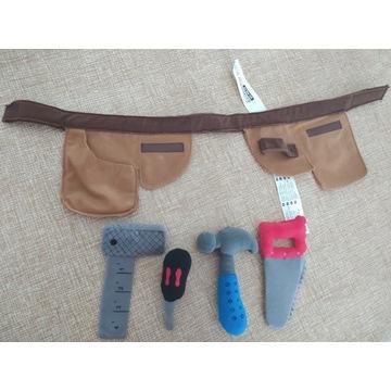 Zabawkowy zestaw z narzędziami