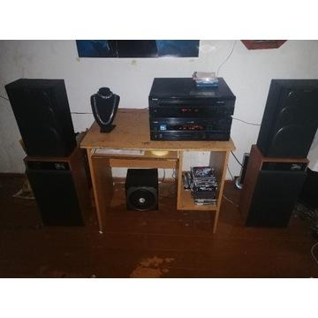 Stereo Yamaha cdc 585 i Yamaha RX-V 630 rds