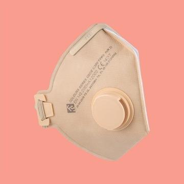 Maska ffp3 ochronna C30V antywirusowa antypylowa