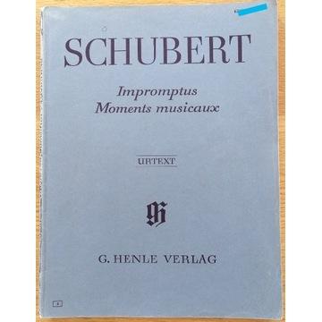 "SCHUBERT ""Impromptus Moments musicaux"" """