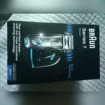 Braun 7 Series 790cc + baza + płyn