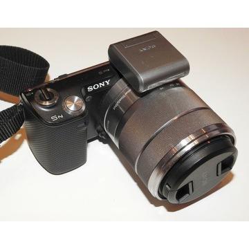Sony NEX 5N / obiektyw E 55 – 210 mm F4.5-6.3 OSS