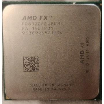 Procesor AMD FX-8320 black edition