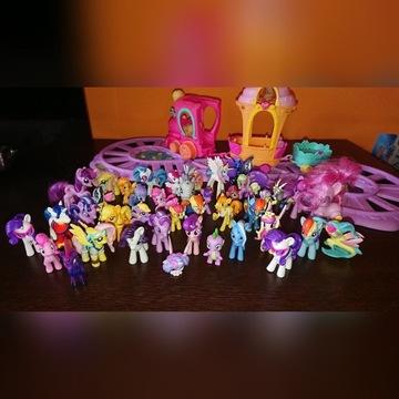 My little pony zestaw kucyków i dodatków