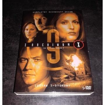 Z Archiwum X Sezon 9 DVD Lektor PL