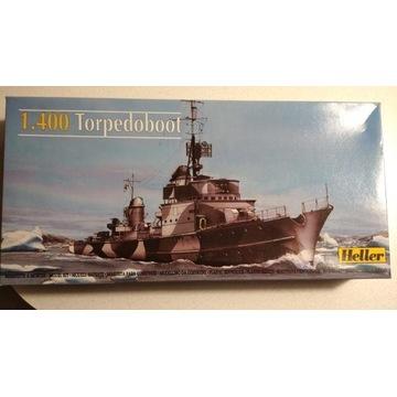 Torpedowiec T23 model firmy Heller 1/400