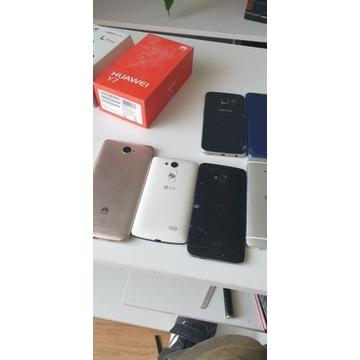 Samsung s6 Edge Huawei y7, HTC
