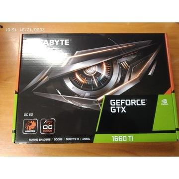 Karta graficzna GTX 1660 TI 6GB OC NOWA FV23%