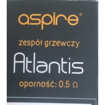 Grzałka Aspire Atlantis 0.5 Om