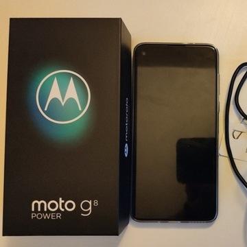 NOWA Motorola MOTOG8 POWER, 4/64GB GWAR, AKCESORIA