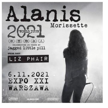 Bilety na koncert Alanis Morissette 2021