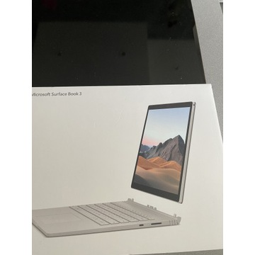 Microsoft Surface book 3 nowy